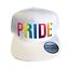 Gay Pride LGBT Rainbow snapback Homme Femme Enfants Unisexe Casquette de baseball Parade