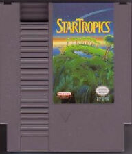 STAR TROPICS CLEANEST GAME AVAILABLE ORIGINAL SYSTEM GAME NINTENDO NES HQ