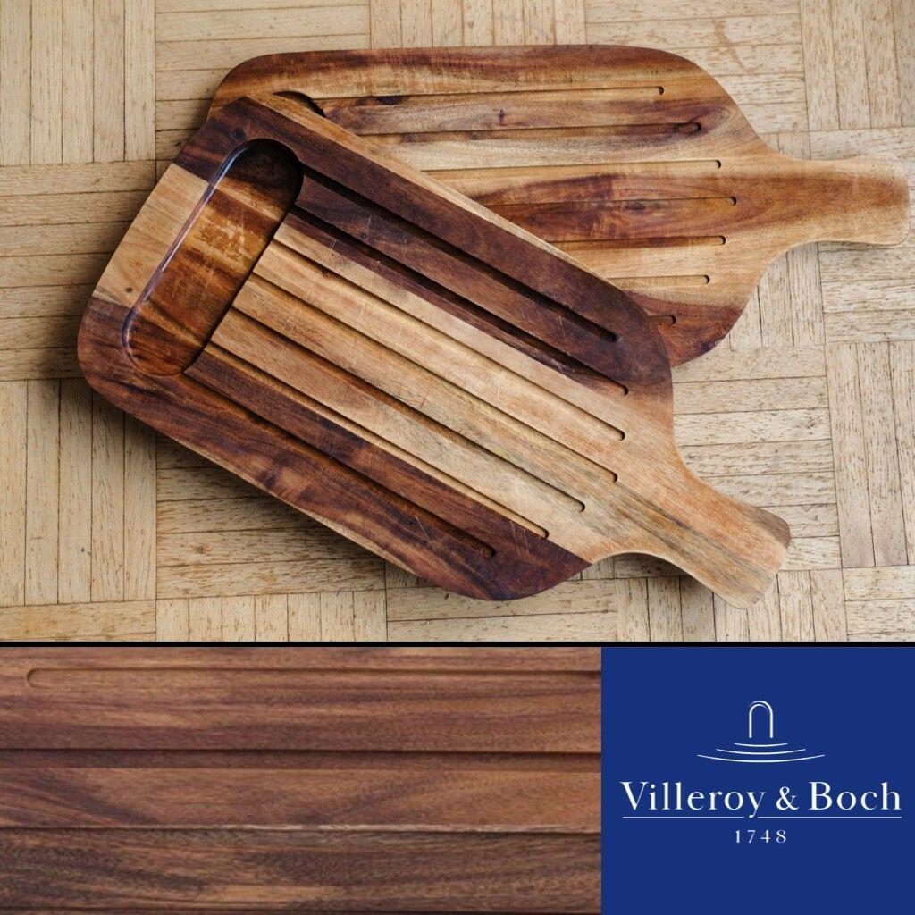 Villeroy & Boch • Artesano • 2 x Holzbrett • • • Schneidebrett • Grill Servierbrett fdf801