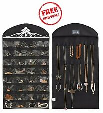 2pack Closet Jewelry Space Saving Hanging Organizer Necklaces