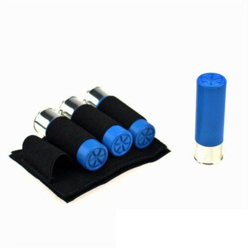 Tactical Military 4 Rounds 12//16//20GA Shotgun Shell Ammo Cartridge Holder Pouch