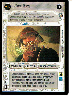 Star Wars CCG Jabbas Palace Card I Must Be Allowed To Speak