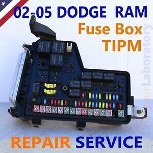02-05 Dodge RAM 1500,2500,3500 Front Control Module & Fuse ...