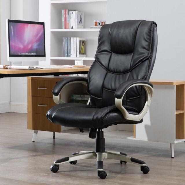 Homcom Chefsessel Drehstuhl Bürostuhl Stuhl Schreibtischstuhl Büro Sessel