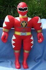 "Vtg 2003 Large Red Bandai Power Ranger Plush Stuffed Action Figure 21 1/2"""