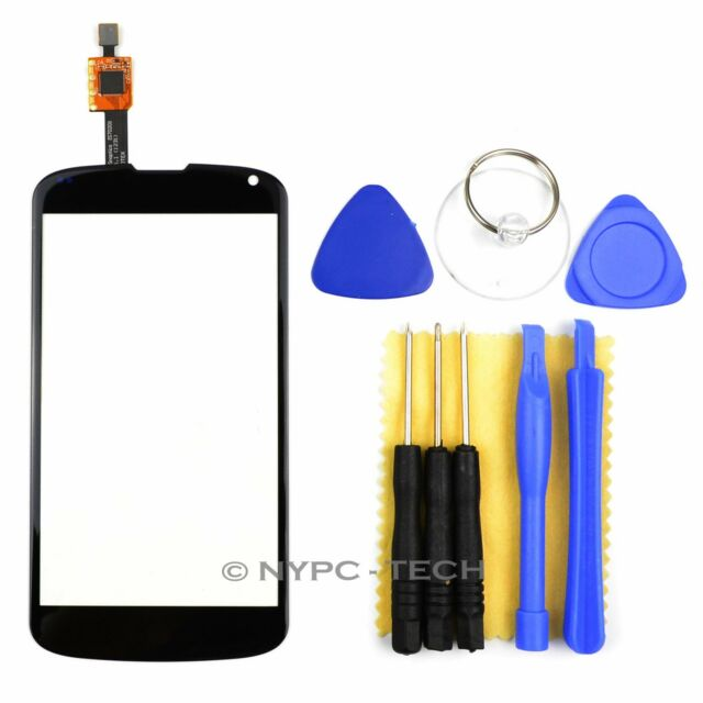 New For Google LG Nexus 4 E960 Digitizer Touch Screen Replacement Glass Lens US