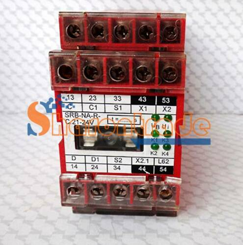 ONE USED SCHMERSAL Safety relay SRB-NA-R-C.21-24V