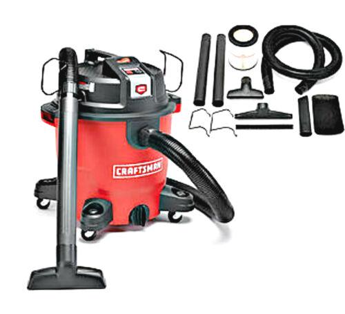 Craftsman XSP 12 Gallon 5.5 Peak HP Wet Dry Vac Shop Vacuum
