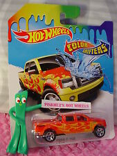 2016 Hot Wheels Color Shifters FORD F-150 pickup truck☆Red/Yellow;5sp