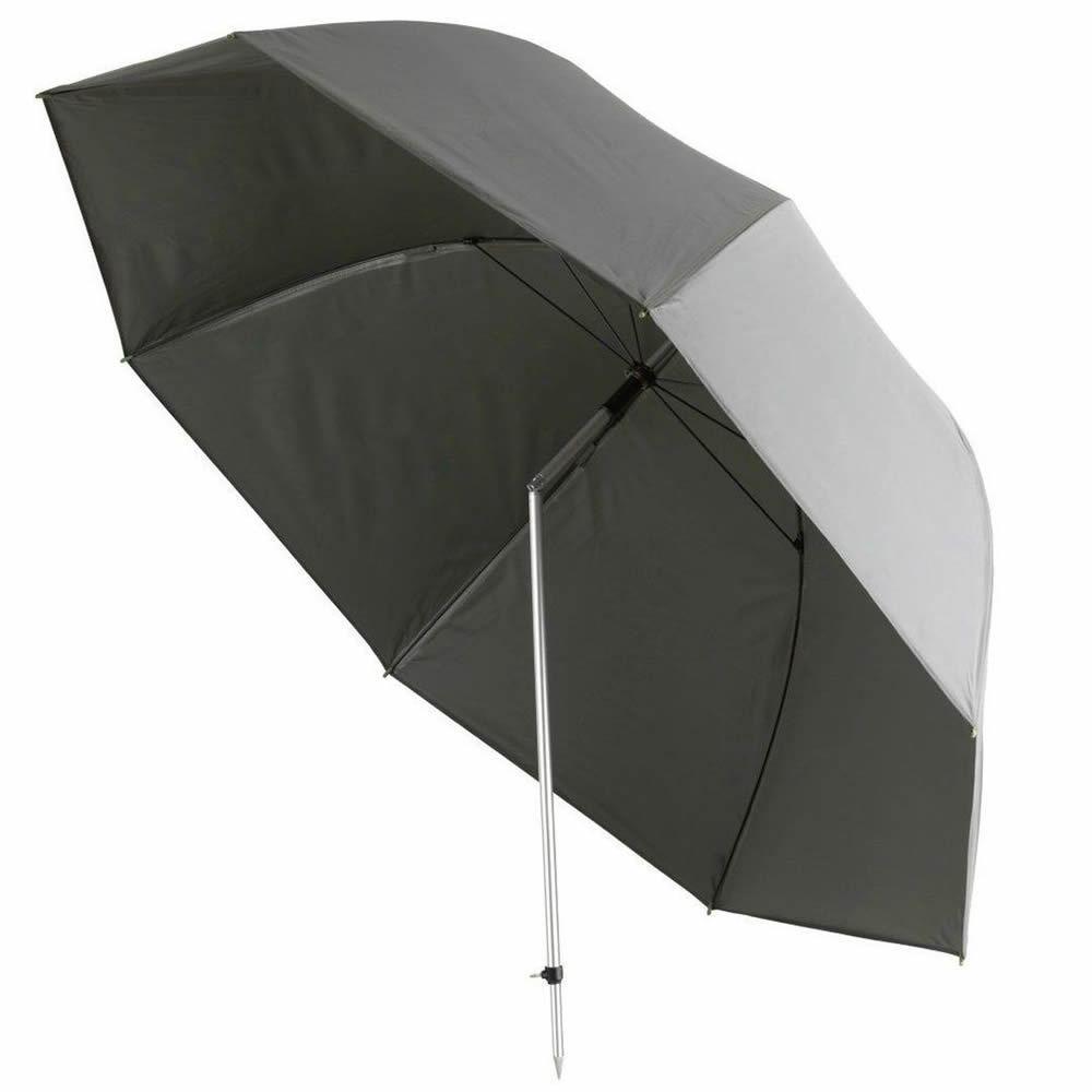 Cormoran Schirm Ribstop Angelschirm Regenschirm 2,50m inkl. Tasche & & Tasche Erdstange 6fb5bd