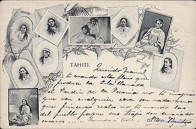 TAHITI WOMENS MULTIPLE IMAGES RRR