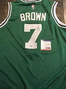 new style eaeff f570f Details about Jaylen Brown Signed Autographed Boston Celtics Jersey! PSA!