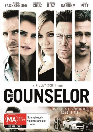 1 of 1 - The Counselor-DVD VERY GOOD CONDITION FREE POSTAGE AUSTRALIA WIDE REGION 4