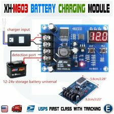 Xh M603 12 24v Battery Charging Control Module Protection Led Voltmeter Board