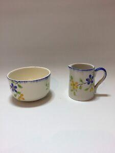 Alfred-Meakin-039-Milk-Jug-amp-Open-Sugar-Bowl-China-England