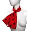 UK-GIRLS-LADIES-RED-NOSE-DAY-COSTUME-Polka-Dot-Skirt-FREE-SCARF-Fancy-Dress thumbnail 5
