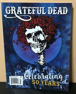 Grateful-Dead-Magazine-Celebrating-50-Years-Issue-2015-Free-Shipping