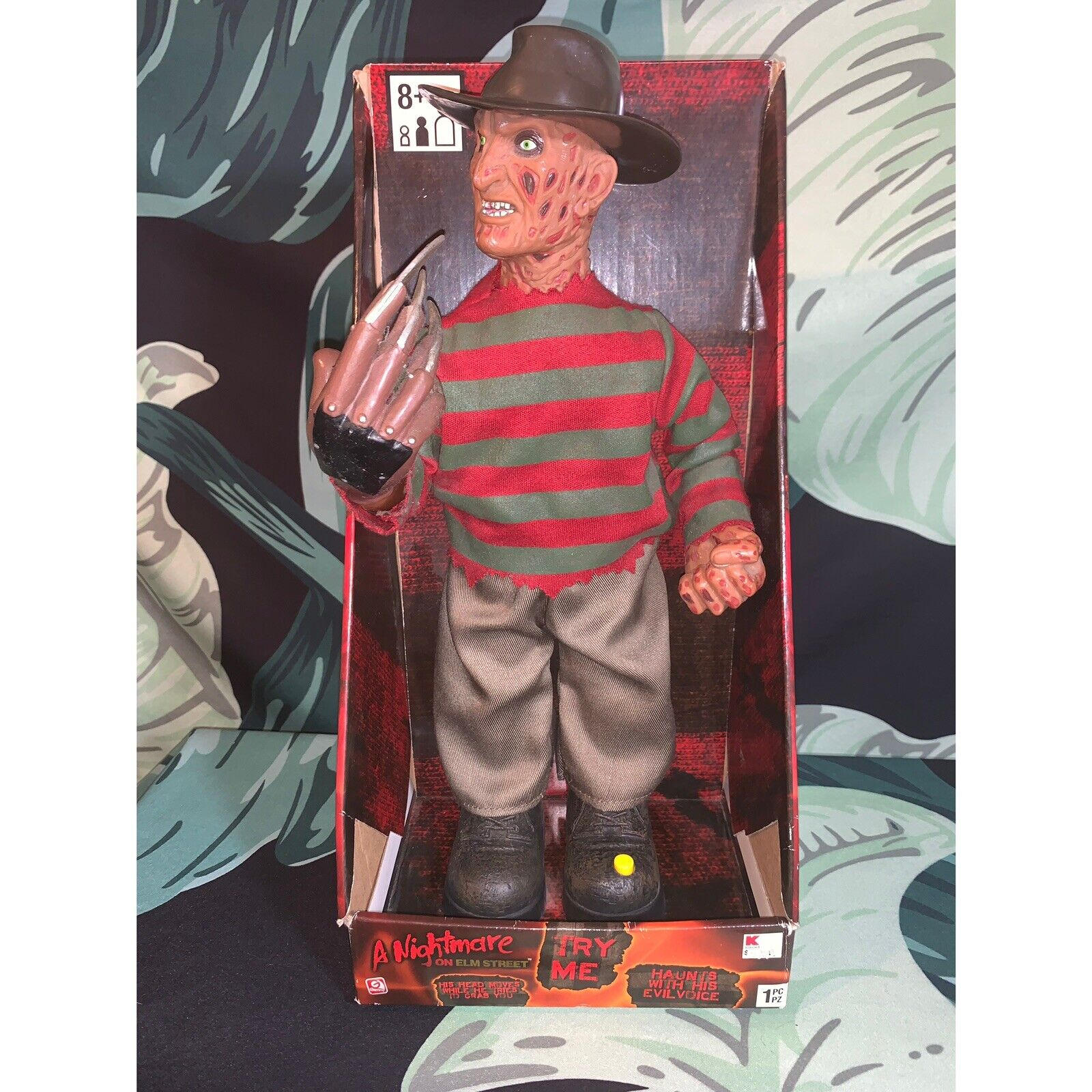 "A Nightmare On Elm Street Animated Frossody Krueger 14"" azione  cifra Gemmy lavoroS  ordina ora goditi un grande sconto"