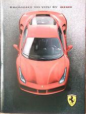 2015 Ferrari 488 GTB Geneva press kit only brochure magazine NO DVD NO USB