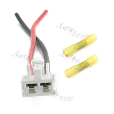 Replace 90980-10916 82998-12380 12Ga. For Toyota Tacoma 2005-2016 8 Inch Plug Wire Harness Pigtail Kit with Heat Shrinks Connectors Blower Motor Connector
