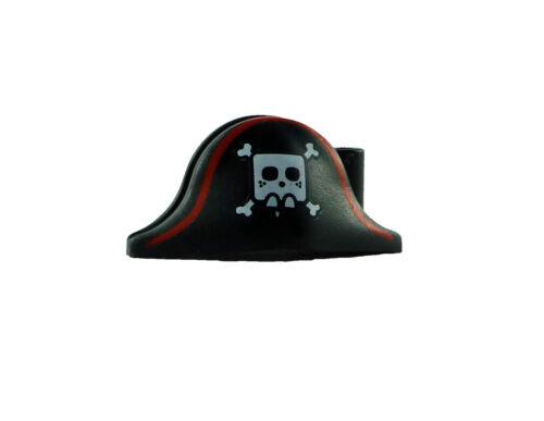 Lego 10 Piratenkappen mit Totenkopf Knochen Kappe Mütze Pirat black hat 2528pb05