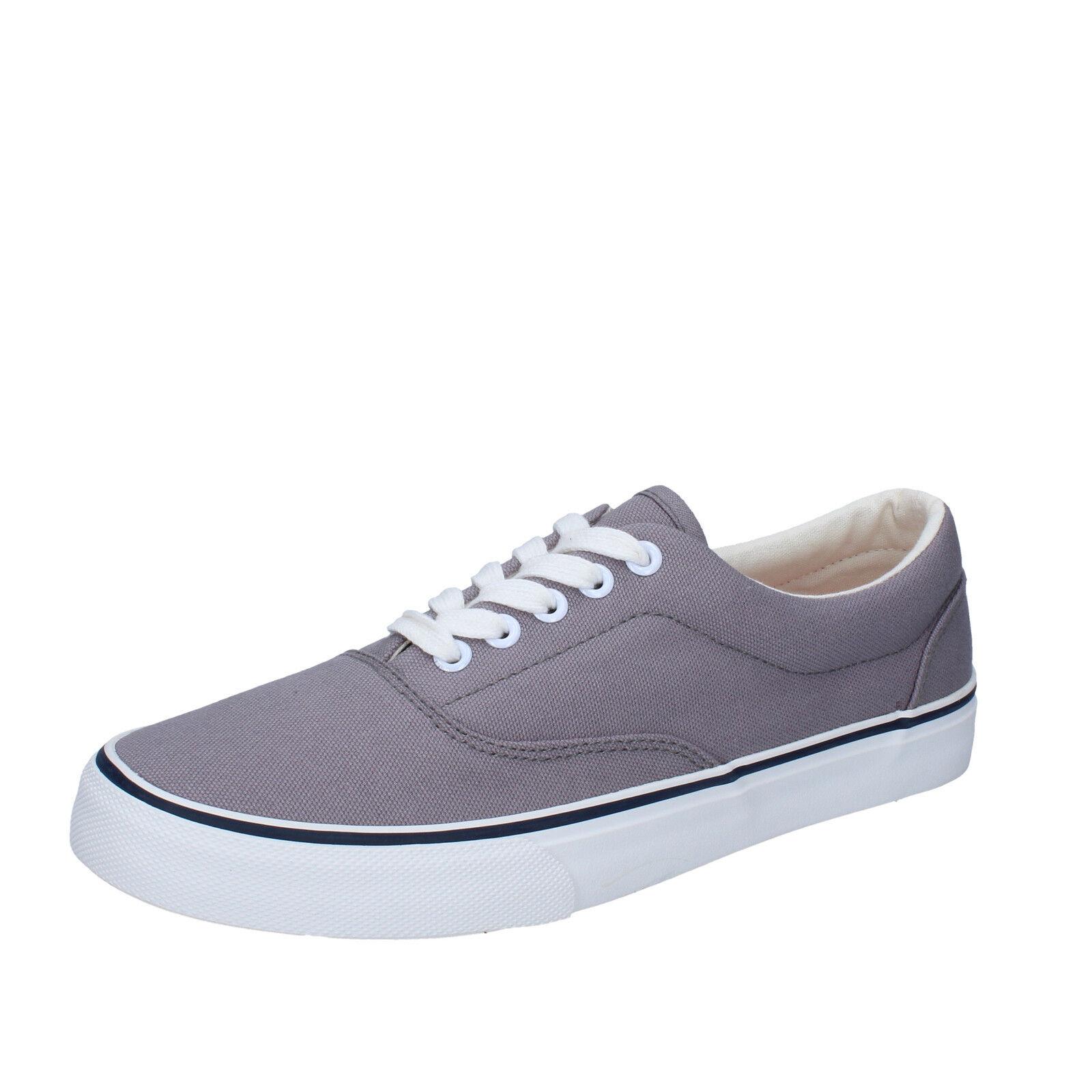 Herren schuhe LUMBERJACK 40 EU sneakers grau textil BY43-B