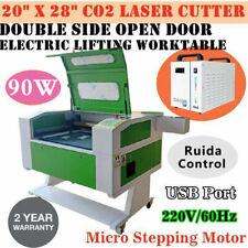 20x28 90w Co2 Laser Cutter Laser Engraving Engraver For Wood Bamboo Plexiglas