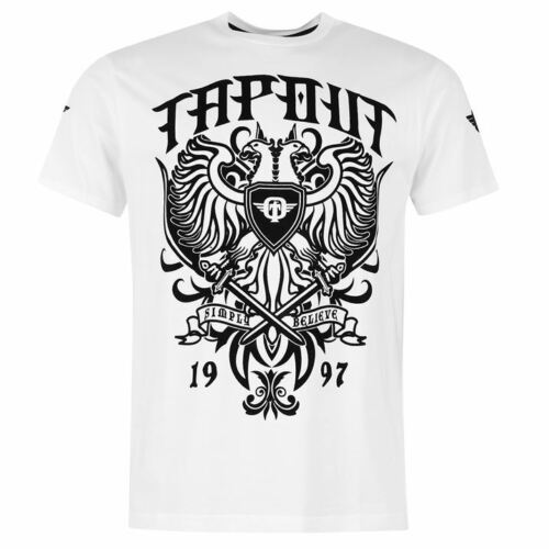 Tapout hommes tshirt t shirt polo manches courtes neuf s m l xl 2xl