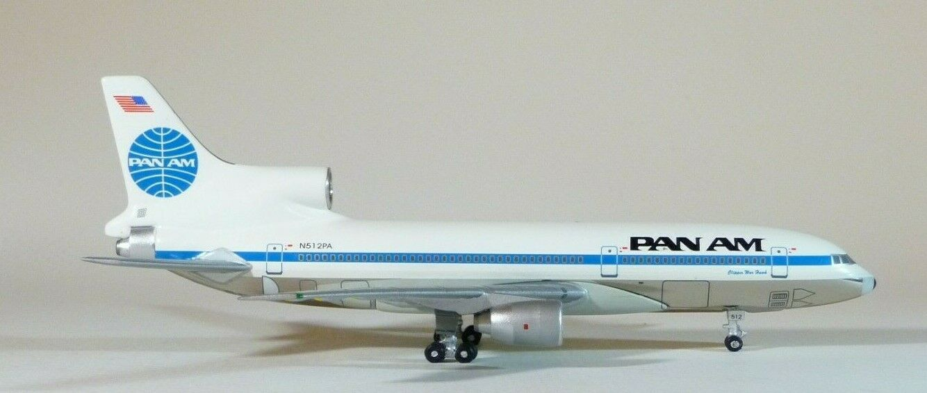 1 400 bleu Box Pan American World Airways L-1011-385-3-500 Chrome   votre satisfaction est notre cible