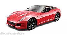 FERRARI 599 GTO RED 1/32 DIECAST MODEL CAR BY BBURAGO 44024