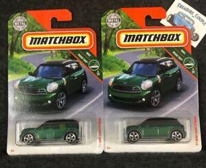 2019 Matchbox #1  /'11 Mini Countryman  MBX Road Trip 5//20  diecast car