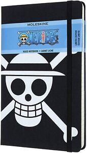 MOLESKINE ONE PIECE Colore Nero Taccuino Righe Ed. Limitata 13x21 cm 240 Pagine