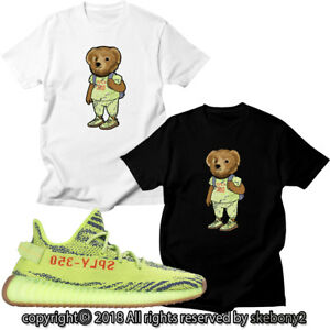 NEW-CUSTOM-T-SHIRT-MATCHING-adidas-YEEZY-Boost-350-v2-GREEN-AD-Y-3-1