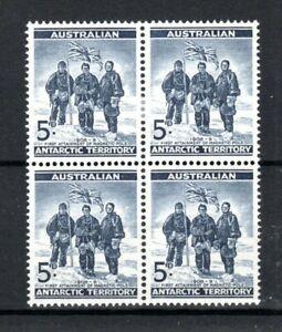 Australia-australiana-Ant-Terr-1961-5d-azul-profundo-estampillada-sin-montar-o-nunca-montada-Bloque