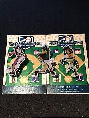 Fanartikel FleißIg Oakland Athletics Revers Pins-reggie Jackson,rollie & Eck #1 Team