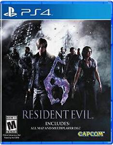 Sony-ps4-PlayStation-4-juego-residente-Evil-6-HD-neu-new-18