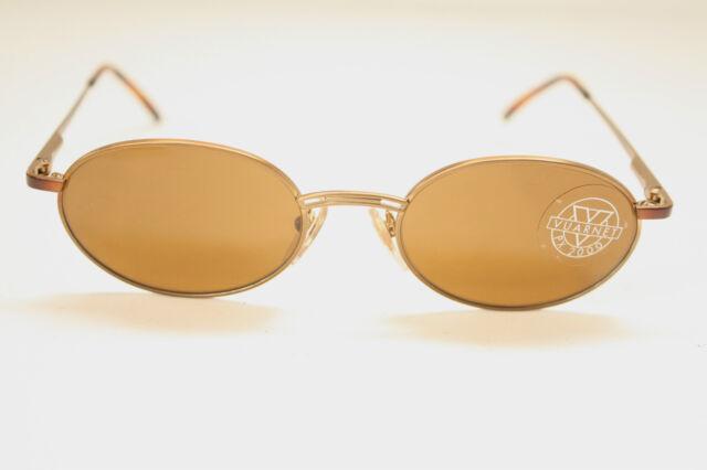 New Vuarnet PX2000 Sunglasses 047 Gold metal 100% UVA NWT