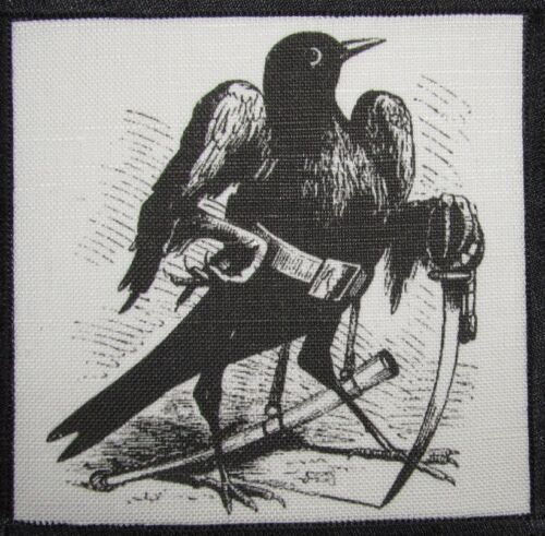 Dictionairre Infernal Demonology CAIM IN BIRD FORM Printed Sew On Patch