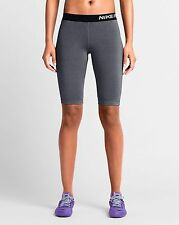 "New Nike Pro 11"" Dri-fit Women's Training Shorts, Grey, Extra Small, BNWT"