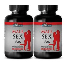Muira Puama - Male Sex Pills 1275mg - Enhance Nerve Sensitivity Supplements 2B