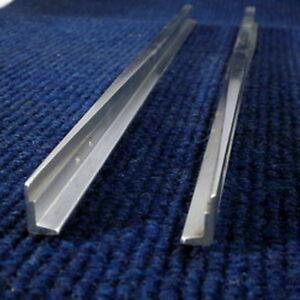 Paire de lames de rayon de rayon 40 pieds - Rail de 16 mm en aluminium, 5    G  g / 7 1/4