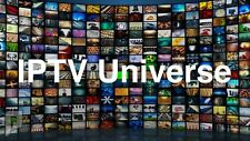 Universe IPTV Service 1 year subscription +3000 Channel,VOD,Mag,Android Smart TV