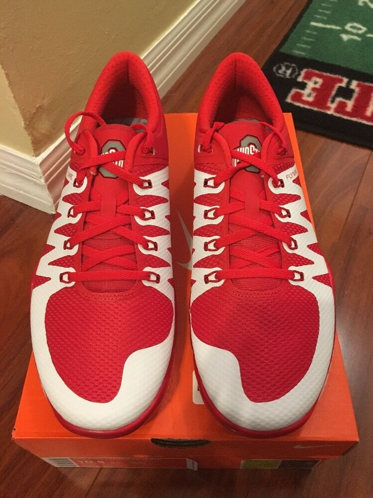 Nike Free Trainer 5.0 V6 AMP Ohio State OSU Comfortable Special limited time