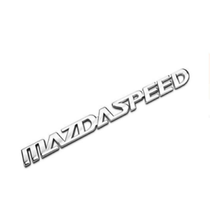 Car Auto Chrome Metal Emblem Badge Rear Decal Fit for Mazda Mazdaspeed