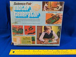 Logix-Kosmos-Science-Fair-Motor-Generator-70s-Toy-Radio-Shack-VTG-280194