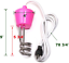 CalPalmy Pink Immersion Water HeaterFloating Stainless Steel Electric Heater