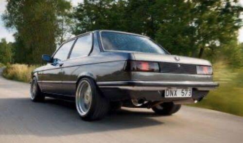 STARTEC,EURO BMW E21 All Type Smoked Taillight Lenses NOS Super Rare Like MHW