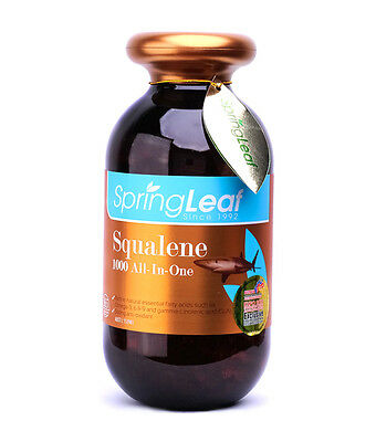 SPRING LEAF SQUALENE 1000 All-in-one 365 CAPS  ***expires 03/2018***