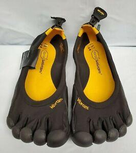 Vibram-M108-Men-039-s-FiveFingers-Shoes-Classic-Black-Minimalist-Running-Non-Marking