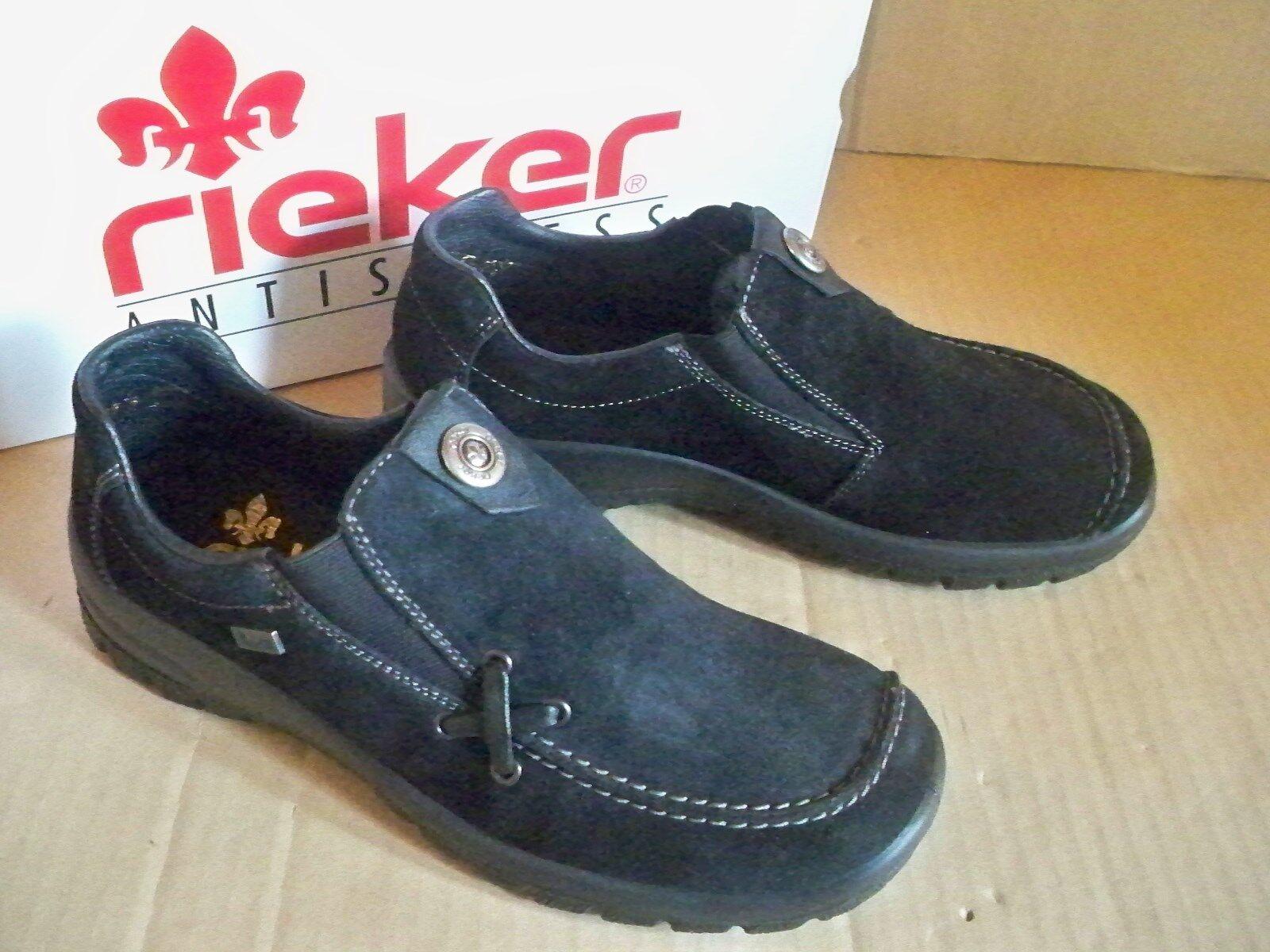 rieker Komfort Slipper mit riekerTEX Membran schwarz L7154-00